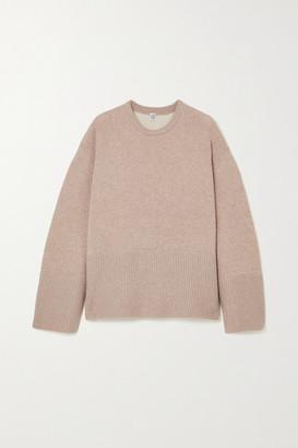 Totême Oversized Cashmere Sweater - Beige