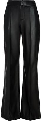 Alice + Olivia Dylan vegan flared trousers