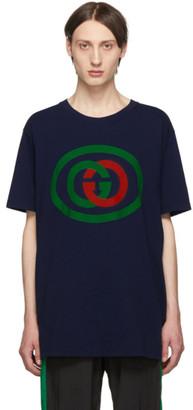 Gucci Blue Interlocking G T-Shirt