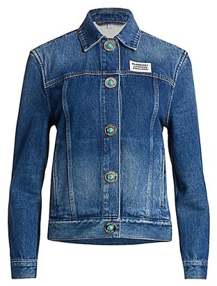 Burberry Yvonne Denim Jacket
