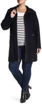 Jessica Simpson Zip Front Coat (Plus Size)