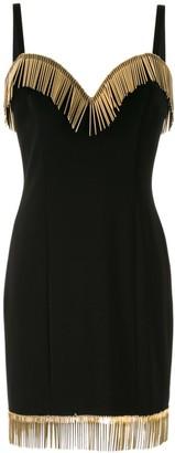 Moschino Needle Embellished Mini Dress