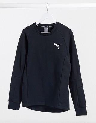 Puma Evostripe sweatshirt in black