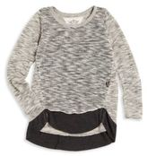T2 Love Girl's Long Sleeve Sweater