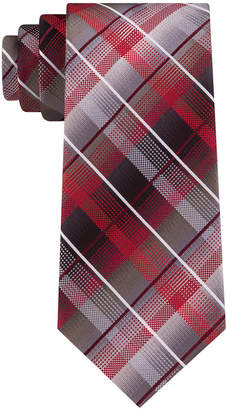 Van Heusen Men Edmonds Classic Plaid Tie