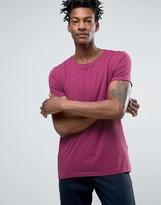 BOSS ORANGE by Hugo Boss Raw Edge T-Shirt Regular Fit in Pink