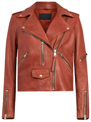 AllSaints Leather Darnley Jacket