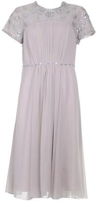 Jenny Packham Pink Polyester Dresses