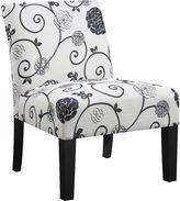 Asstd National Brand Swirl Floral Side Chair