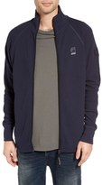 G Star Men's 'Jirgi' Waffle Knit Zip Jacket