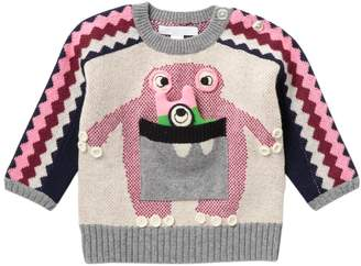Burberry Monster Bot Cashmere Sweater (Baby & Toddler Girls)