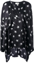 Faith Connexion Star Over tunic - women - Silk - M