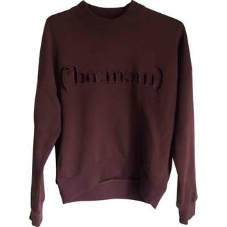 Harmony Burgundy Cotton Knitwear for Women