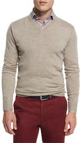 Peter Millar Merino Wool V-Neck Sweater