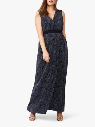 Studio 8 Maci Spot Print Maxi Dress, Navy