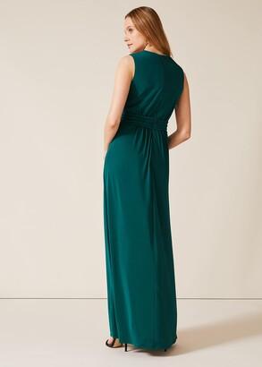 Phase Eight Caylee Drape Maxi Dress
