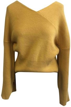 MANGO \N Yellow Knitwear for Women