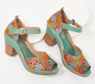 Spring Step L'Artiste by Leather Mary Janes - Avnia