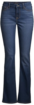 JEN7 by 7 For All Mankind Mid-Rise Slim-Fit Bootcut Jeans