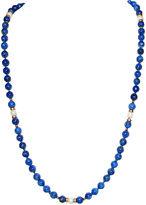One Kings Lane Vintage Lapis Lazuli & Pearl Necklace