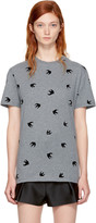 McQ by Alexander McQueen Grey Micro Swallow Classic T-shirt