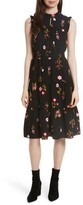 Kate Spade Women's In Bloom Smocked Waist Dress