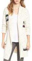 BP Texture Stripe Knit Cardigan