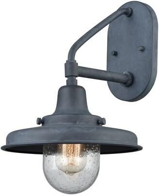 Artistic Home & Lighting Vinton Station 1-Light Outdoor Wall Lamp