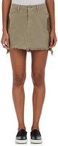 Sandrine Rose Women's Appliquéd Denim Miniskirt