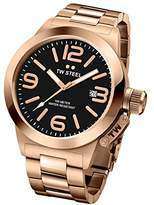 TW Steel 'Canteen' Quartz Gold Watch(Model: CB403)