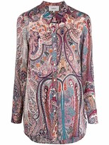 Thumbnail for your product : BA&SH Paisley-Print Shirt