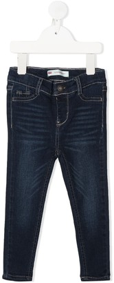 Levi's Stonewashed Slim-Fit Jeans