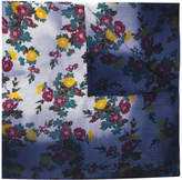 Golden Goose Deluxe Brand floral embroidered scarf