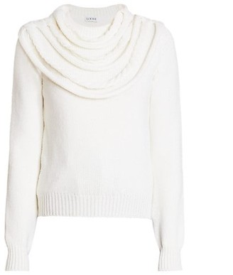 Loewe Braided Collar Wool Sweater