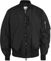 Moncler Timothe Black Shell Bomber Jacket