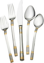 Wallace Gold Accent Corsica 65-pc. Flatware Set
