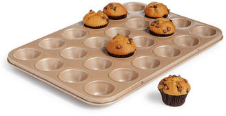 Martha Stewart Collection 24-Cup Nonstick Champagne Mini Muffin Pan