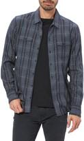 Paige Everett Plaid Button-Up Flannel Shirt