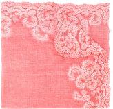 Faliero Sarti embroidered scarf - men - Cotton/Polyester/Viscose - One Size