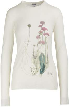 Loewe Long-sleeved botanical T-shirt
