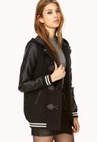 Forever 21 Street-Chic Varsity-Style Coat