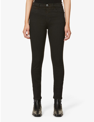 3x1 Channel skinny high-rise stretch-denim jeans