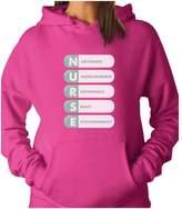 TeeStars - NURSE Initials - All That Nurses Are Best Gift Idea Women Hoodie