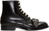 Gucci Black Queercore Boots