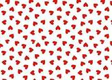 BABYBJÖRN SheetWorld Fitted Sheet (Fits Travel Crib Light) - Primary Hearts Red Woven - Made In USA - 24 inches x 42 inches (61 cm x 106.7 cm)