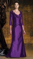 Mon Cheri Boutique by Mon Cheri - 112955 Long Dress In Purple