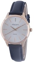 Johan Eric Women's JE2200-09-001.3 Herlev Analog Display Quartz Blue Watch