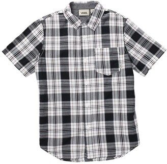 Vans By Charmster Short Sleeve Plaid Print Shirt