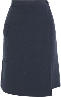 Iris & Ink Viktoria Crepe Wrap Skirt