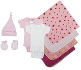 Bambini Essential Newborn Baby Shower Layette Gift Set, 8pc (Baby Girls)